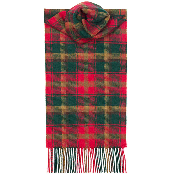 Maple Leaf Tartan Scarf - Anderson Kilts