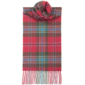 MacLean of Duart Weathered Tartan Scarf - Anderson Kilts
