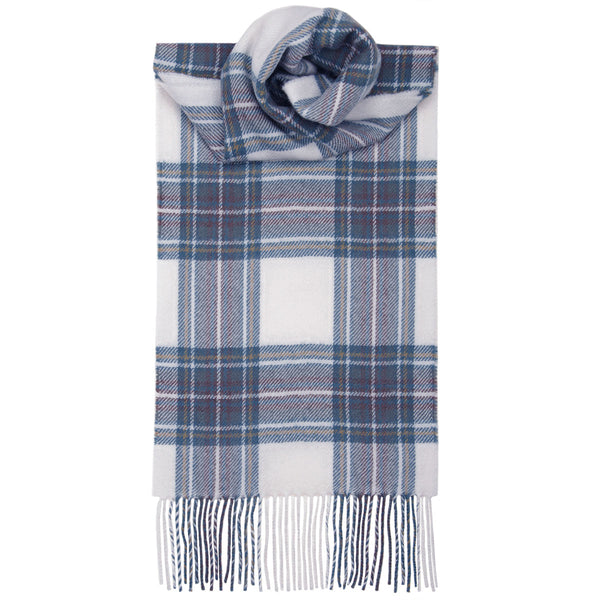 Stewart Blue Dress Tartan Scarf - Anderson Kilts