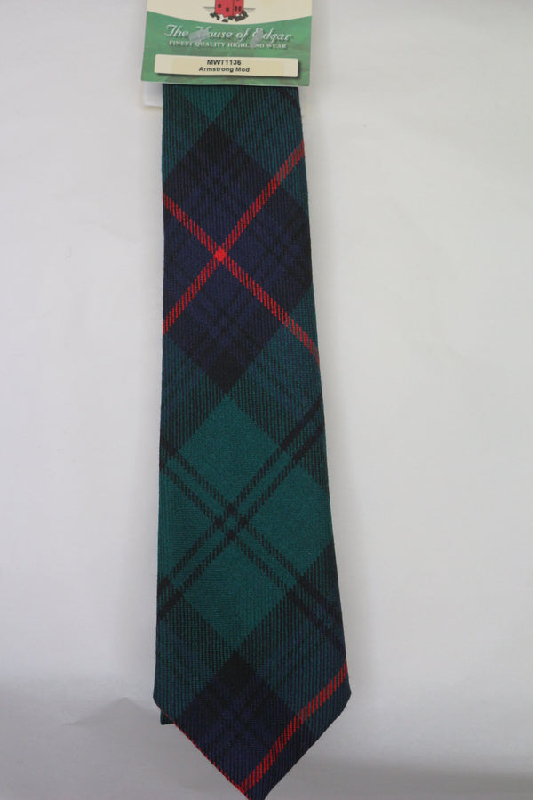 Armstrong Modern Tartan Tie - Anderson Kilts