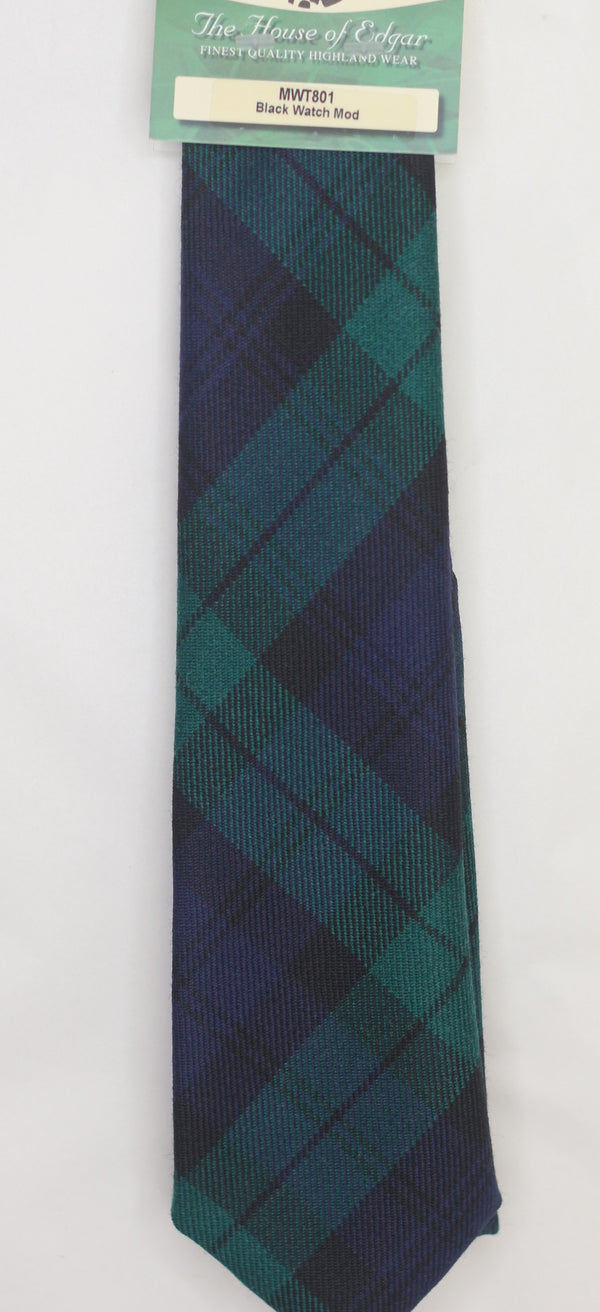 Black Watch Tartan Tie - Anderson Kilts