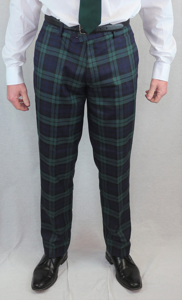 Tartan Trews - Black Watch - anderson-kilts