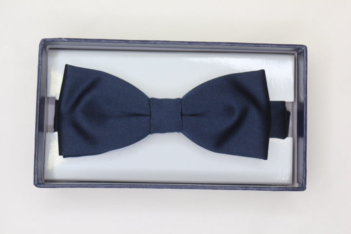 Navy Bow Tie - Anderson Kilts