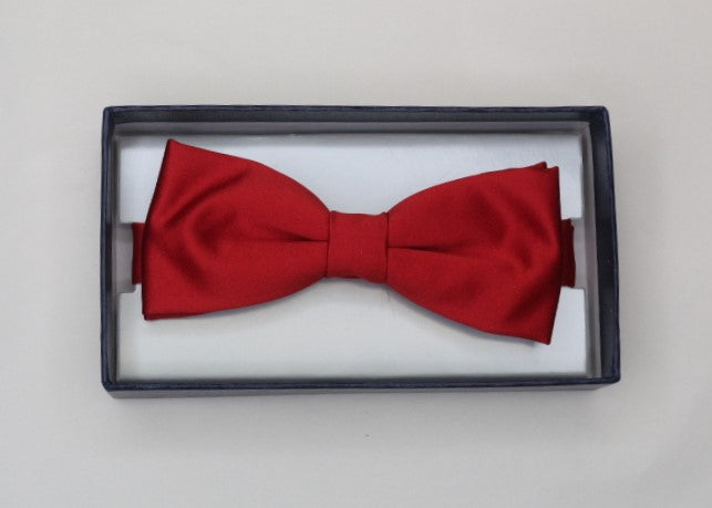 Scarlet Red Bow Tie - Anderson Kilts
