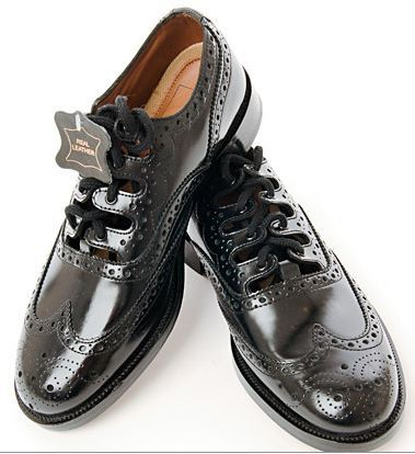 Black Ghillie Brogue - Anderson Kilts