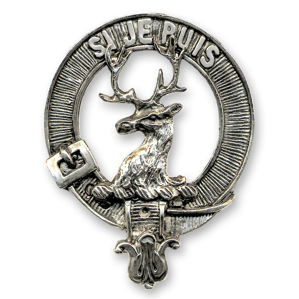 Clan Crest Cap Badge (M-Z) - Anderson Kilts