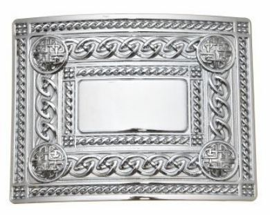 Buckle with celtic knotwork - Anderson Kilts
