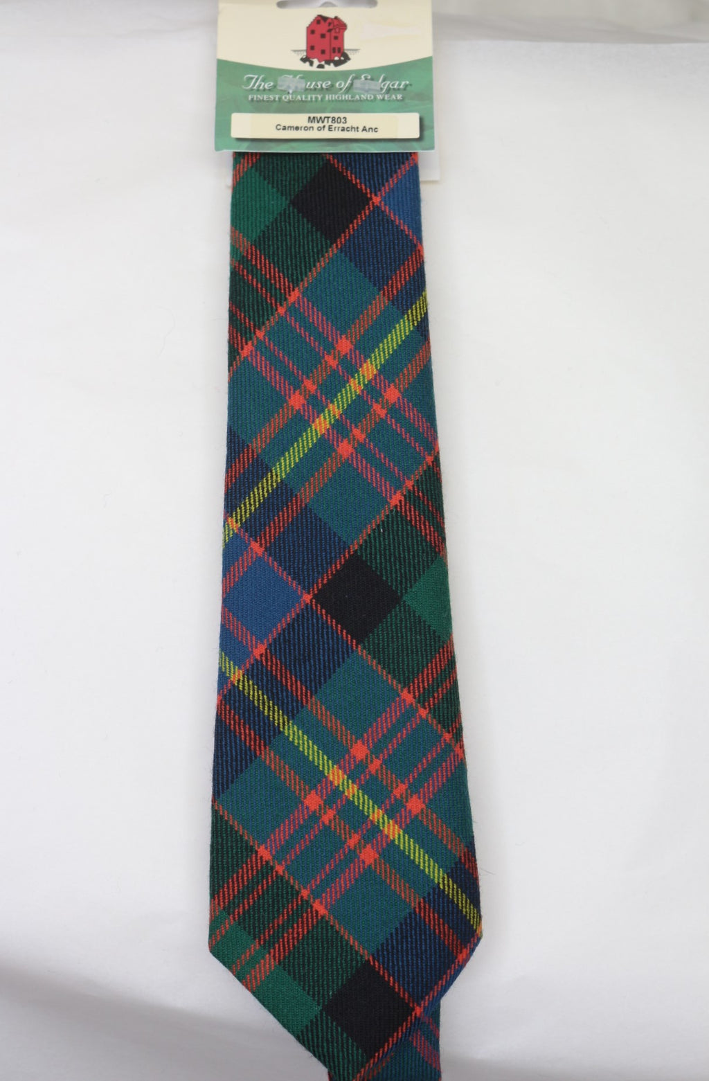 Cameron of Erracht Ancient Tartan Tie - Anderson Kilts