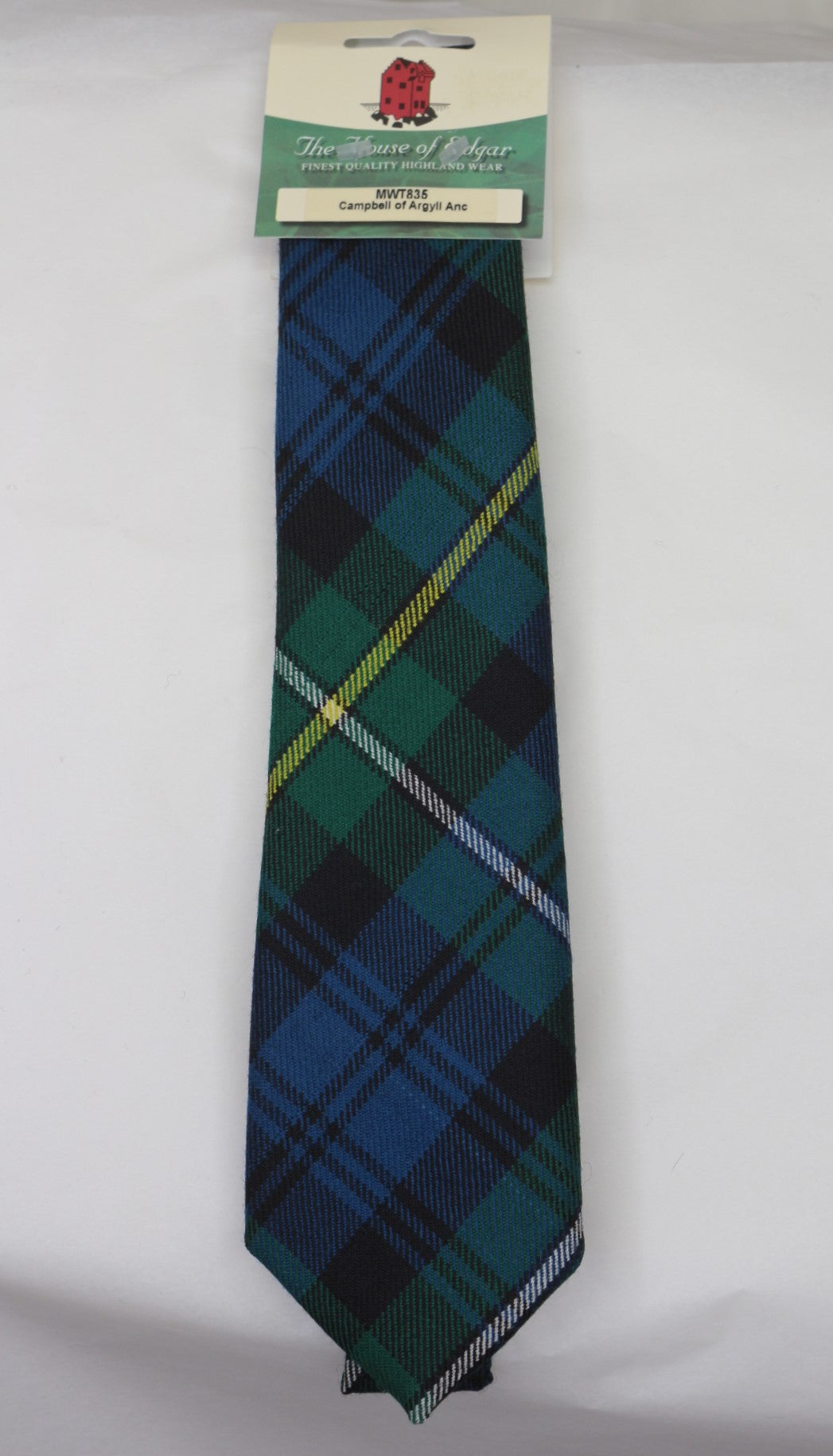 Campbell of Argyll Ancient Tartan Tie - Anderson Kilts