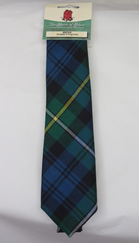 Campbell of Argyll Ancient Tartan Tie