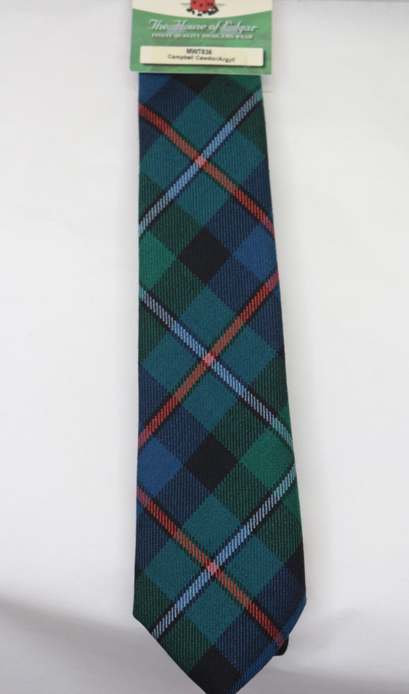 Campbell of Cawdor Ancient Tartan Tie