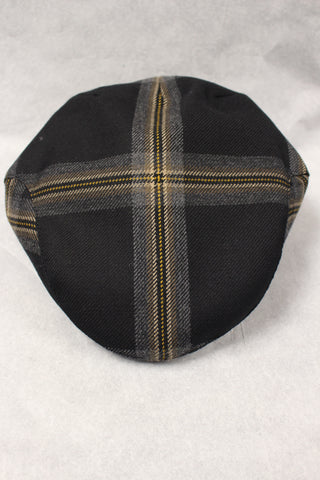 Black Galloway Tartan cap