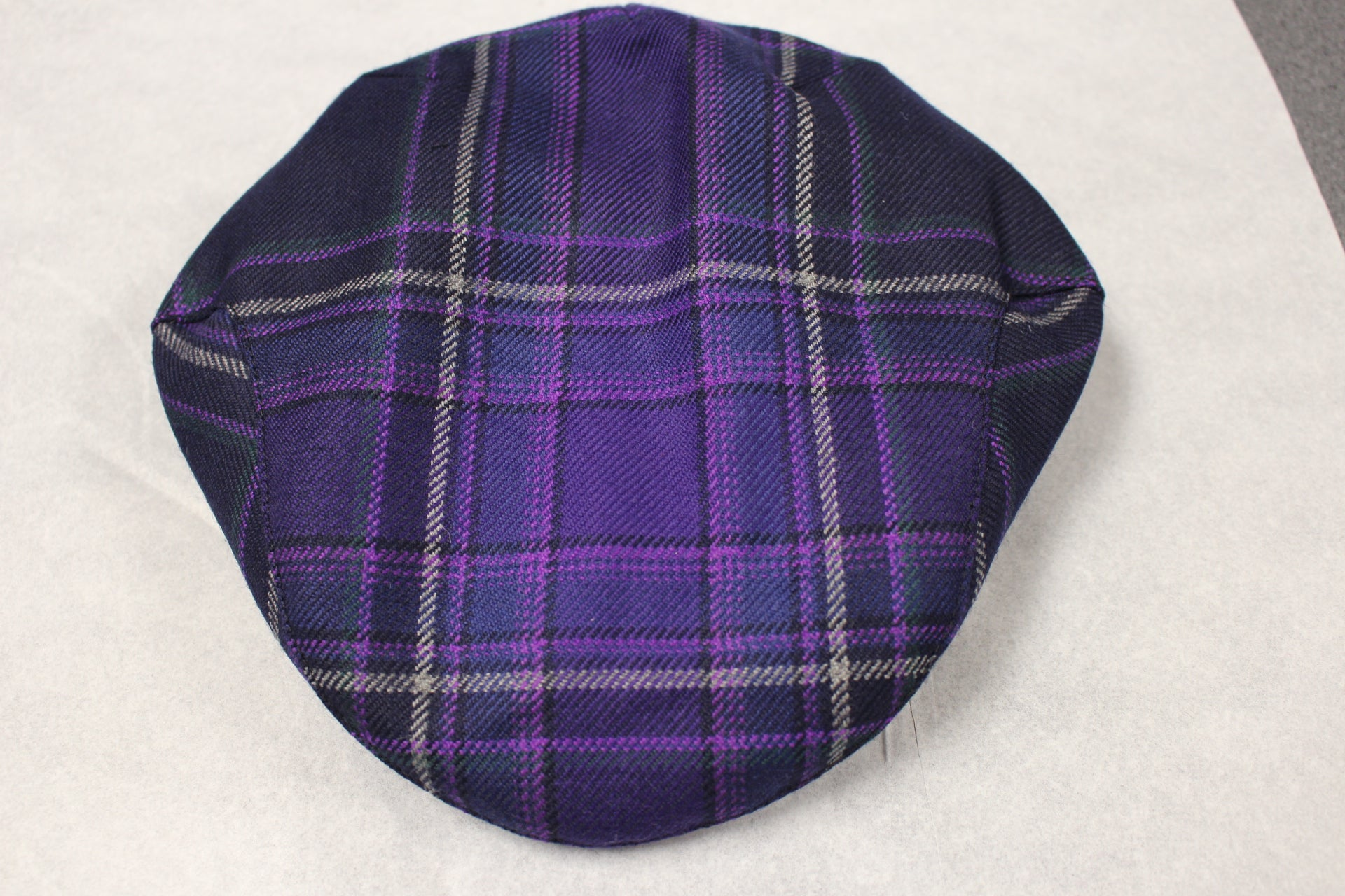 Galloway Heather tartan cap
