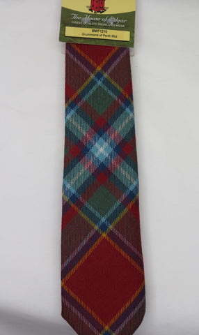 Drummond of Perth Muted Tartan Tie