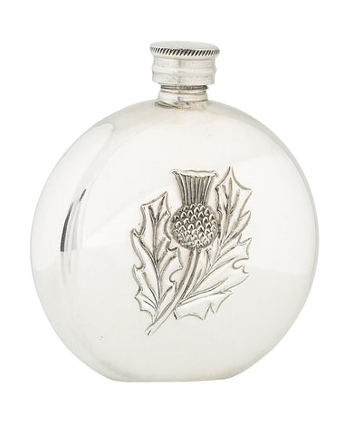 Round Thistle Sporran Flask- 4.5oz