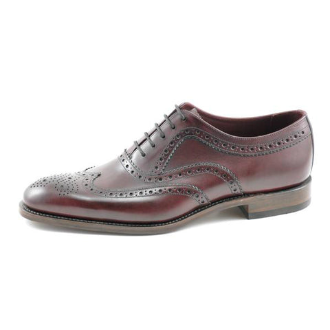 Loake Oxblood Leather Day Brogue