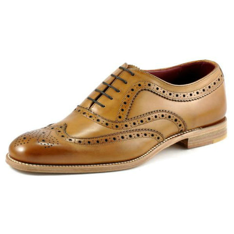 Loake Tan Leather Day Brogue