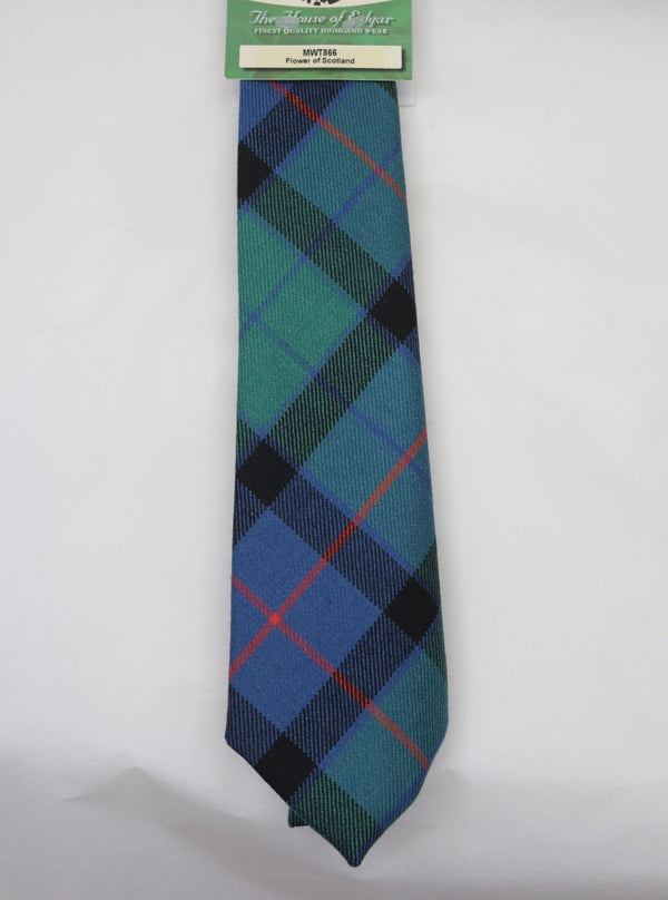 Flower of Scotland Tartan Tie - Anderson Kilts