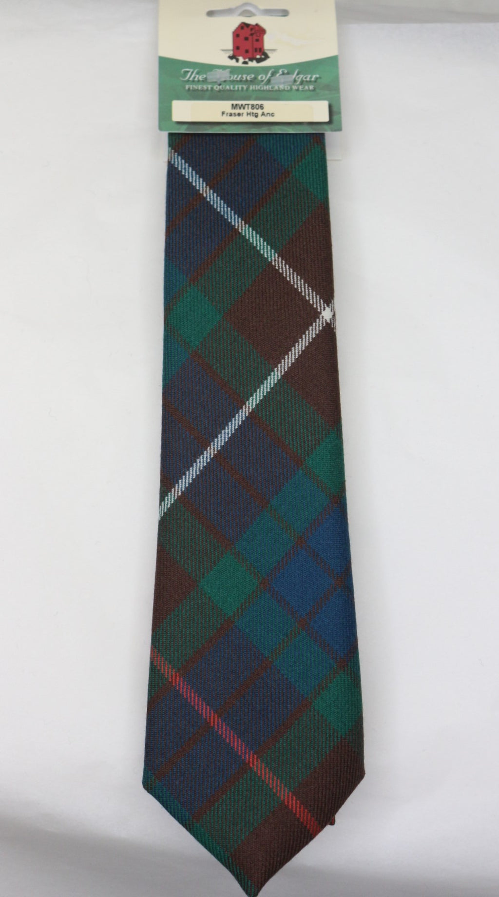 Fraser Ancient Hunting Tartan Tie - Anderson Kilts