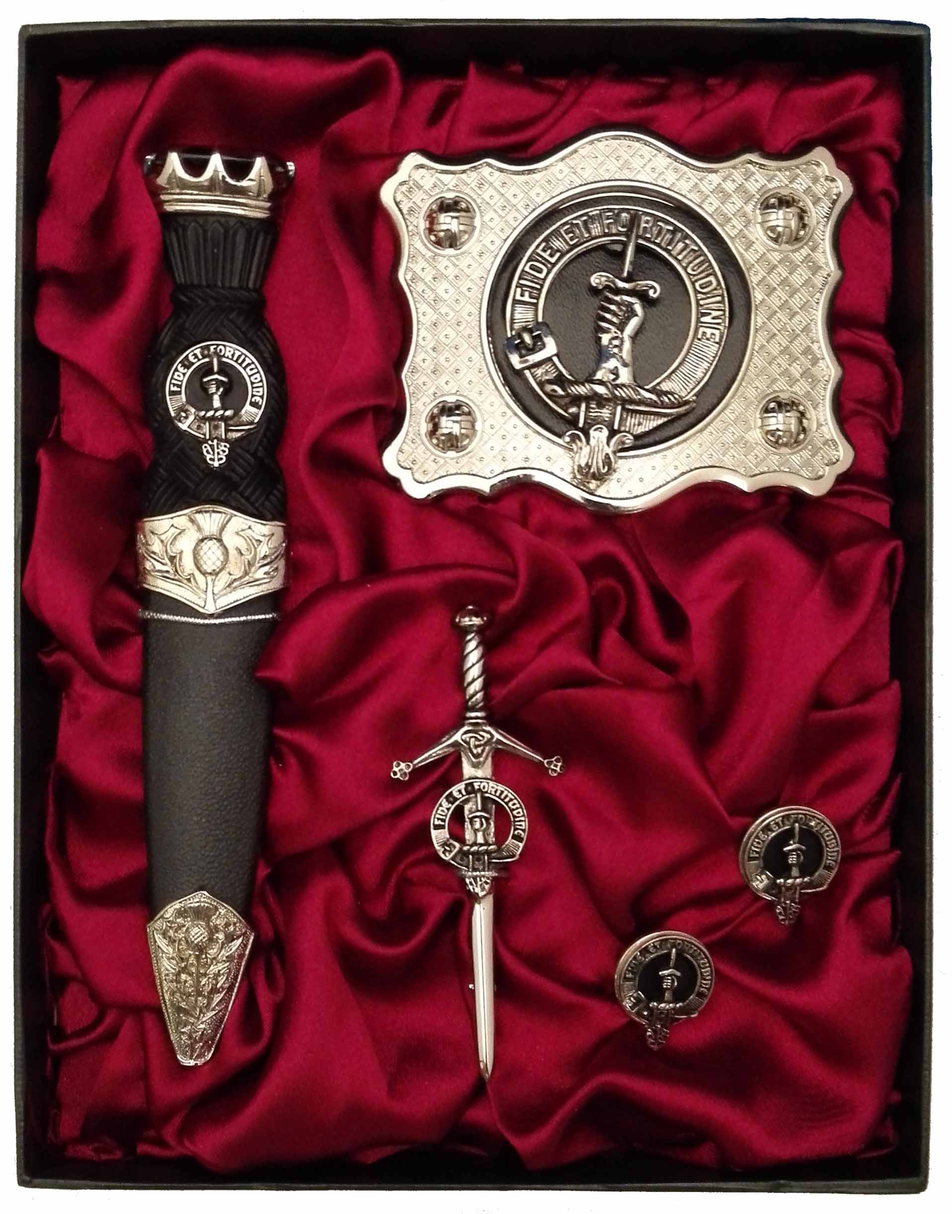 Clan Crest Gift Set (A-L) - Anderson Kilts