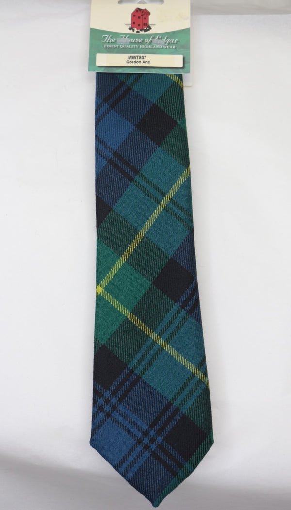 Gordon Ancient Tartan Tie - Anderson Kilts