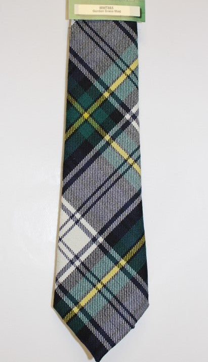Gordon Dress Tartan Tie - Anderson Kilts