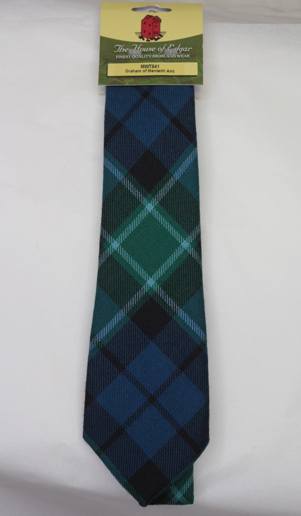 Graham of Menteith Ancient Tartan Tie - Anderson Kilts