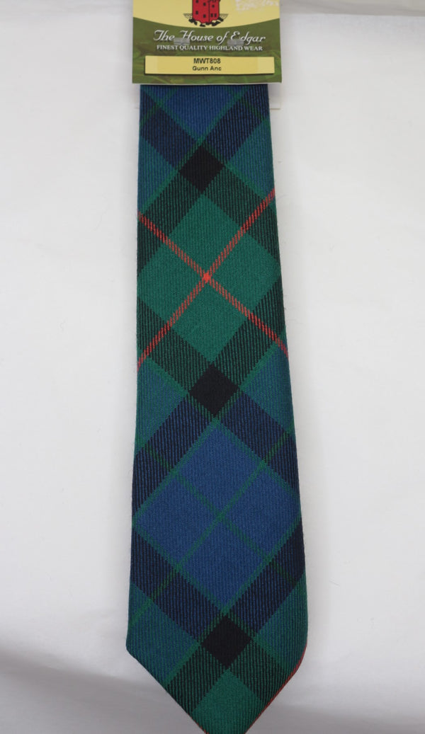 Gunn Ancient Tartan Tie - Anderson Kilts