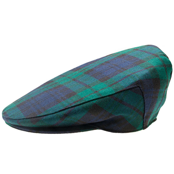 Black watch tartan cap - Anderson Kilts