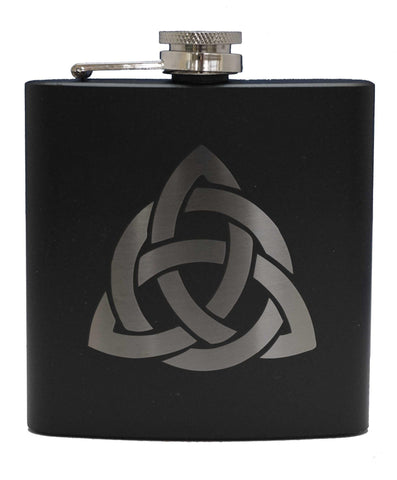 Celtic Knot Sporran Flask - 6oz