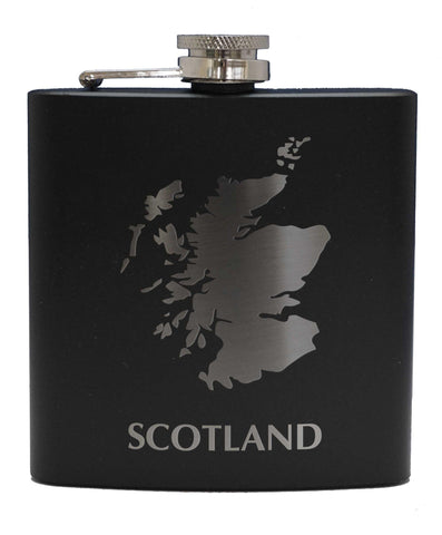 Scotland Sporran Flask - 6oz