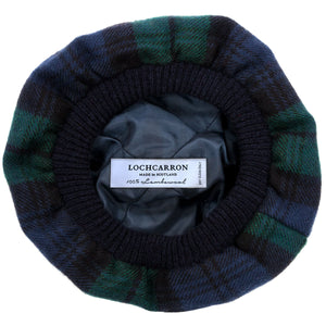 Black Watch Tartan tam 2