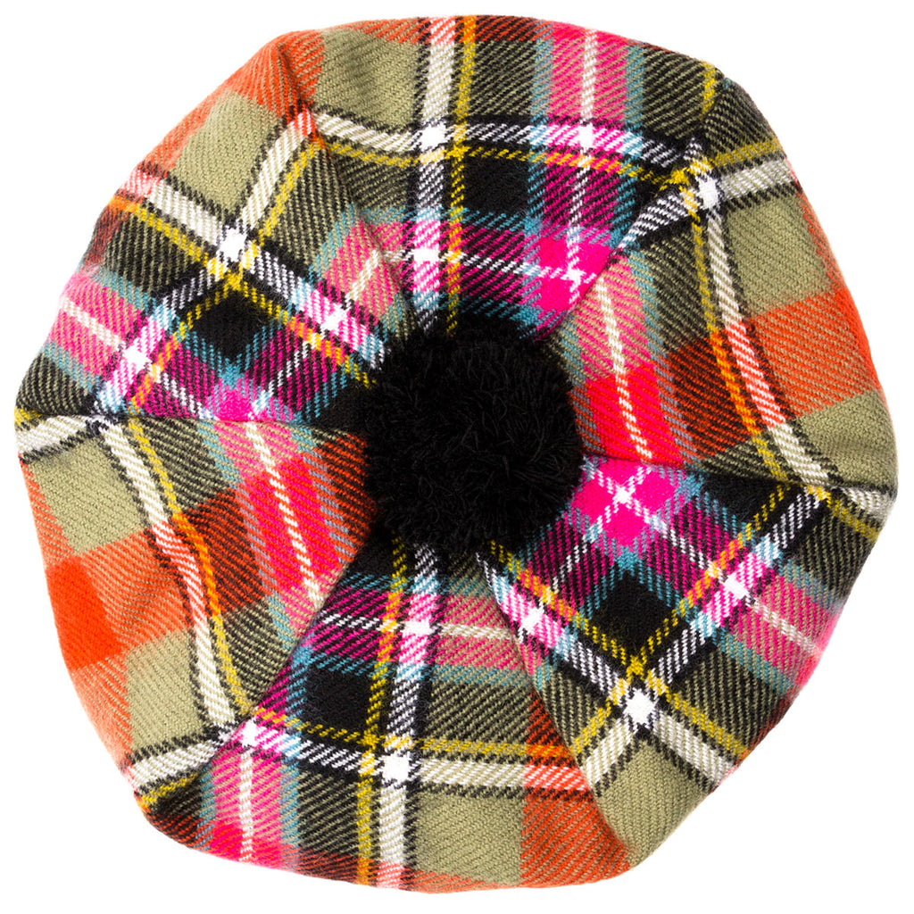 Bruce of Kinnaird Ancient Tartan tam 1