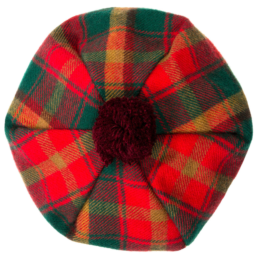 Maple Leaf Tartan tam - Anderson Kilts Dumfries