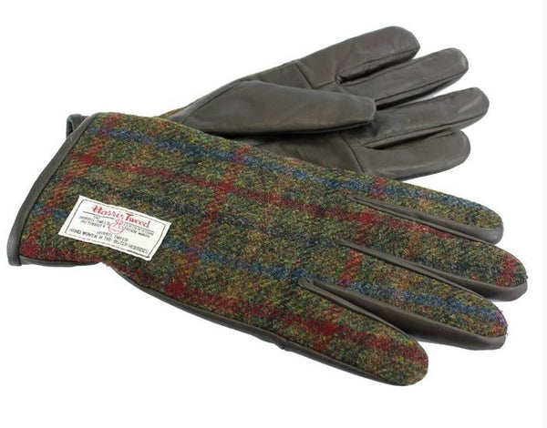 Harris tweed gloves - Anderson Kilts