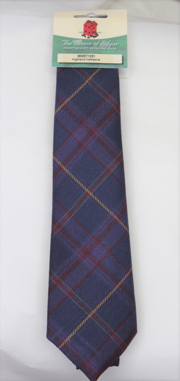 Highland Cathedral Tartan Tie - Anderson Kilts