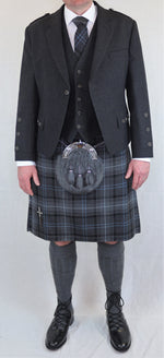 Grey arrochar package outfit - Anderson Kilts