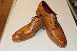 Loake Tan Leather Day Brogue - Anderson Kilts