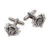 Dress Thistle Cufflinks