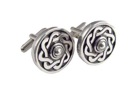 Cufflinks - Celtic knotwork design