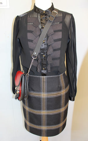Ladies Tartan Pencil Skirt - Tartan of Own Choice
