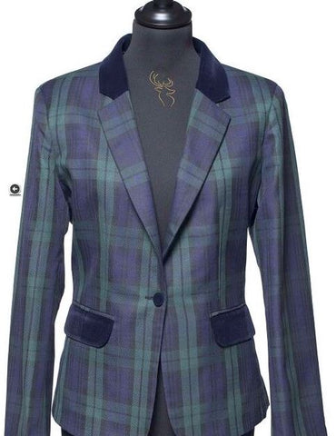 Ladies Tartan Blazer - Black Watch
