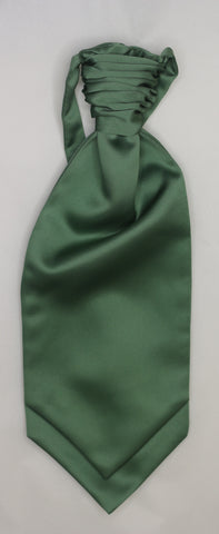 Leaf green Ruche Cravat