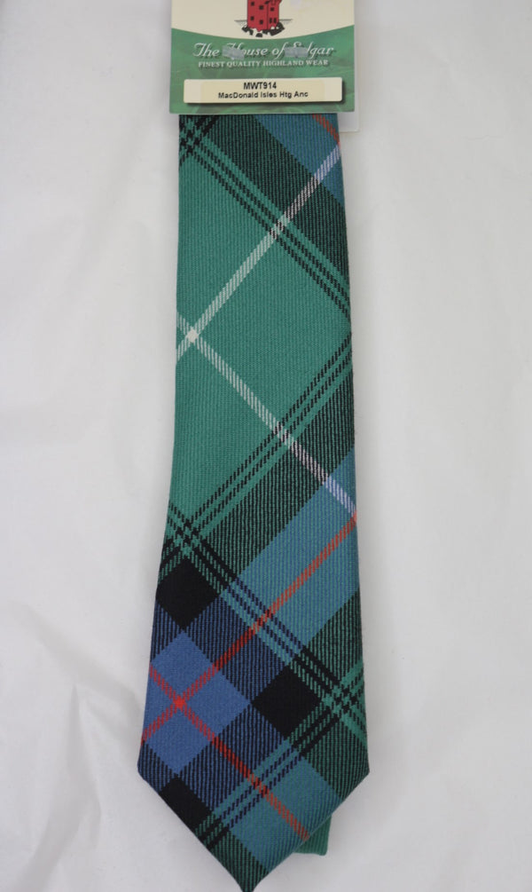 MacDonald of the Isles Ancient Hunting Tartan Tie - Anderson Kilts