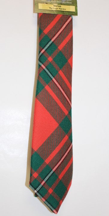 MacGregor Red Ancient Tartan Tie - Anderson Kilts