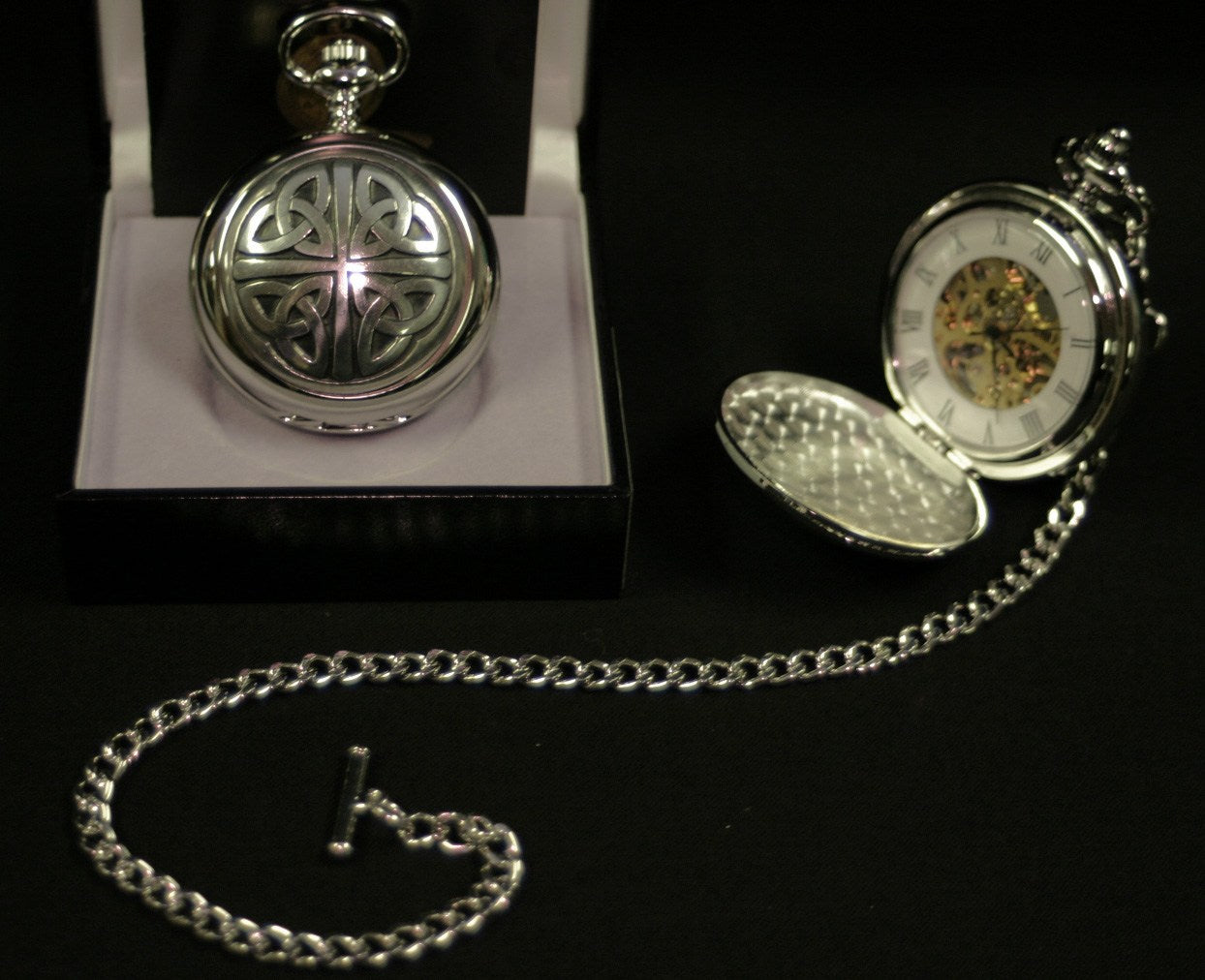 Celtic Mechanical Pocket Watch - PW101M - Anderson Kilts
