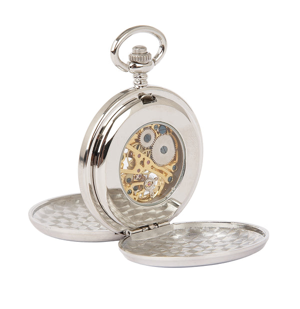 Celtic Thistle Mechanical Pocket Watch - PW103M - Anderson Kilts