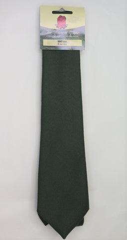 Mens House of Edgar Woollen Tie - Muted Green
