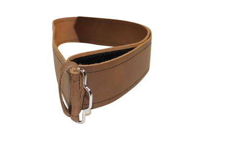 Norwood Brown Leather Belt