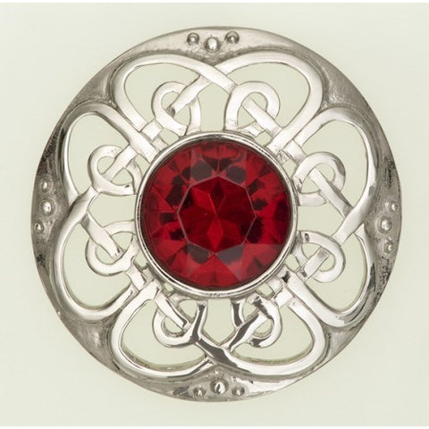 Culloden Plaid Brooch - 184